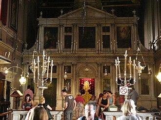 Saint Spyridon Church - The iconostasis