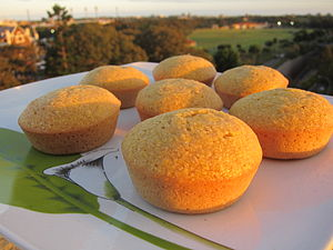 Corn muffins cooling as the sun sets.jpg