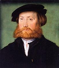 Portrait d'homme à la barbe rousse