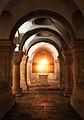 Corridor at Dormition Abbey.JPG