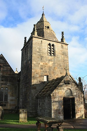 Corstorphine - Corstorphine Church tower, Edinburgh
