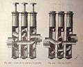 Corte de los pistones levantados, Pistones bajados (1882).jpg