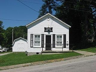Corwin, Ohio Village in Ohio, United States