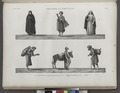 Costumes et portraits. 1-4. Costumes de femmes et de marchands; 5. Saqqâ ou porteur d'eau; 6. Ânier (NYPL b14212718-1268858).tiff