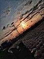 Coucher de soleil africa land Benin.jpg