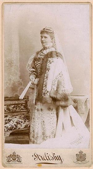 Countess Irma Sztáray de Sztára et Nagymihály