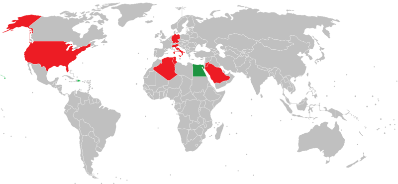 Countries Visited Map-Faris El-Gwely.PNG