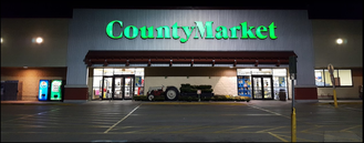 County Market - A County Market store located in Sterling, Illinois.
