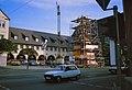 Crailsheim 1979 - Wiederbekroenung des Rathausturmes 1.jpg