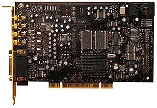 Sound Blaster X-Fi Computer sound card