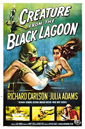 Description de l'image Creature from the Black Lagoon poster.jpg.