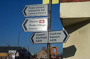 Elmton-with-Creswell - Image: Creswell 113072 b 019cb 56