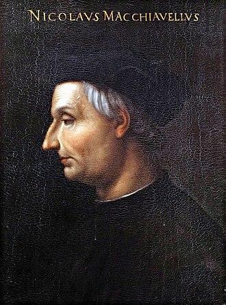 Niccolò Machiavelli - Oil painting of Niccolò Machiavelli by Cristofano dell'Altissimo