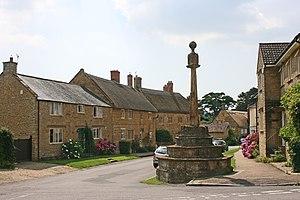 Hinton St George - The village cross