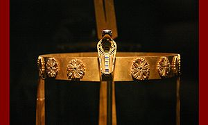 Diadem - Image: Crown of Sit Hathor Yunet (Senusret II's daughter)