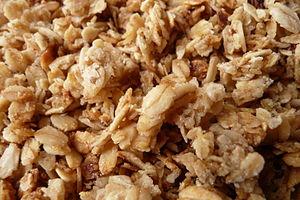 Français : Crunchy de composition (flocons d'a...