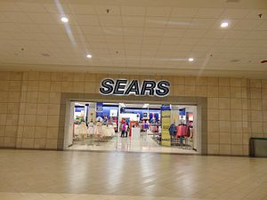 Crystal Mall (Connecticut) - The Sears anchor store at the mall.