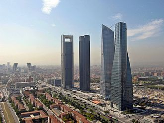 Cuatro Torres Business Area - Image: Cuatro Torres Business Area
