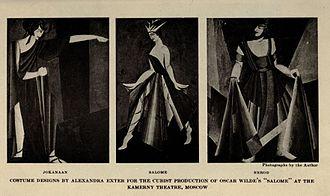 Aleksandra Ekster - Costumes designed by Ekster.