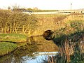 Culvert carrying the western drainage channel below the A5 - geograph.org.uk - 1088266.jpg