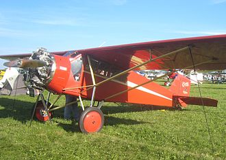 Curtiss Robin - 1929 Curtis Robin C-1 used for the movie Pearl (modified with an R-680)