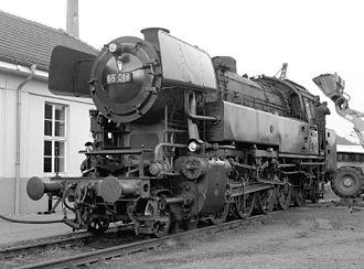 2-8-4 - Deutsche Bundesbahn Class 65