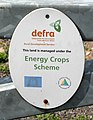 DEFRA sign on the gate - geograph.org.uk - 545443.jpg
