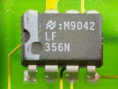 DOV-1X - National Semiconductor LF356N on printed circuit board-9803.jpg