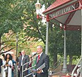 DSC 0164 Governor Martin O'Malley at Gazebo (6175917153).jpg