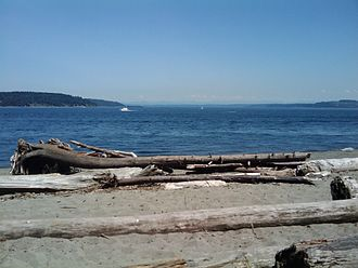 Point Defiance Park - Owen Beach in Point Defiance Park