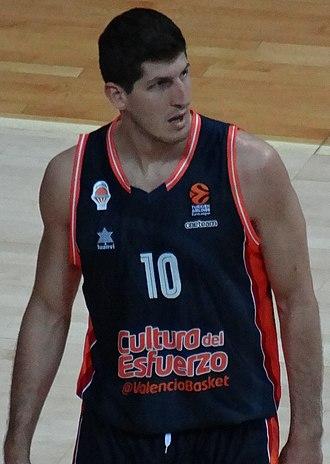 Damjan Rudež - Image: Damjan Rudež 10 Valencia Basket 20171102 (3)