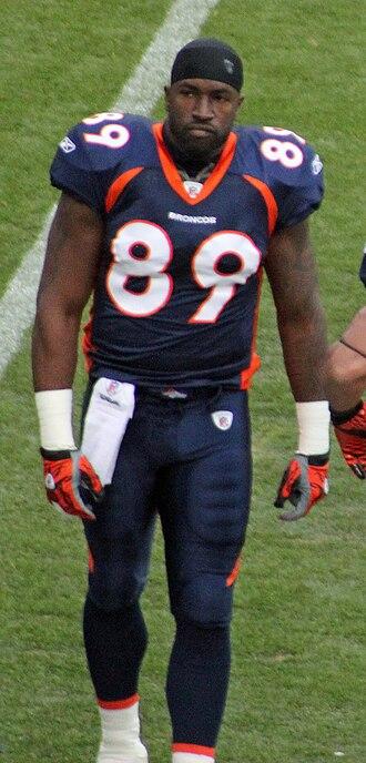 Daniel Graham - Graham while with Denver.