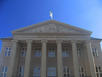 Danske Bank - Danske Bank's headquarters in Kongens Nytorv in Copenhagen.