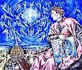 Dante Alighieri, Apoteosi a Firenze, 700° anniversario della morte (1321-2021), illustrazione dell'artista Giovanni Guida.jpg