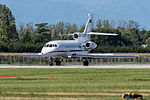 Dassault Falcon 900EX MM62171 (cn 45) carrying Italian President of the Republic (22080335402).jpg