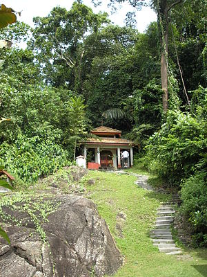 Datuk Keramat - The Shrine of Datuk Panglima Hijau on Pangkor Island