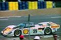 Dauer 962 LM - Hans-Joachim Stuck, Thierry Boutsen & Danny Sullivan at the 1994 Le Mans (31130441434).jpg