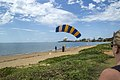 Daughter landed safely Queens Beach Redcliffe (39399292751).jpg