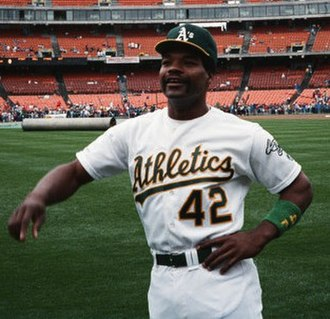 Dave Henderson - Henderson with the Oakland A's in 1989