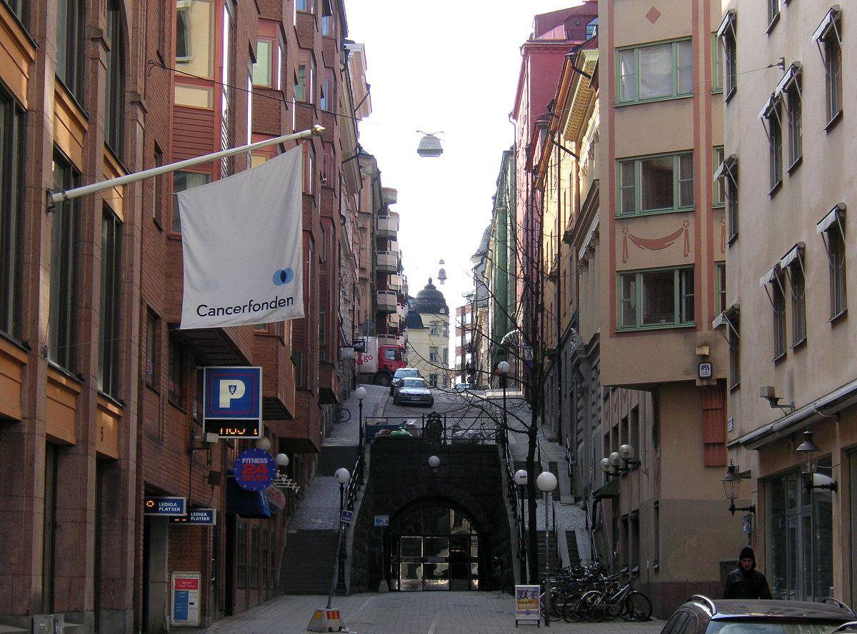 utanför gata hooker kostym i Stockholm