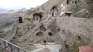 David Gareja monastery complex - Image: David Gareja monastery and caves 21