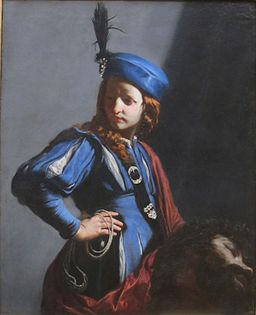 David with the Head of Goliath by Guido Cagnacci, Getty Center