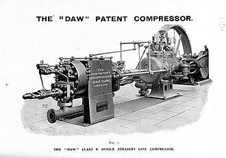 Reciprocating compressor - Image: Daw Catalogue Patent Compressor Tracts vol 9 p 166