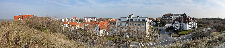 De Haan (Belgium): panorama