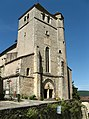 De kerk van Saint-Cirq-Lapopie, 2010.jpg