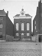 De voorgevel van de verdwenen synagoge te Rotterdam - Rotterdam - 20191747 - RCE