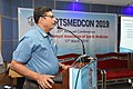 Debasish Sinha Delivering Lecture - Medical Disorders in Sports Personnel - SPORTSMEDCON 2019 - SSKM Hospital - Kolkata 2019-03-17 3442.JPG