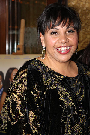 Deborah Mailman - Mailman at The Sapphires Australian premiere in August 2012