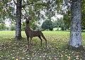 Deer sculptures, Canonteign Falls, nr Exeter (30932995400).jpg