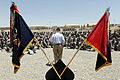Defense.gov News Photo 110606-D-XH843-013 - Secretary of Defense Robert M. Gates thanks soldiers for their service and bids them farewell at a Forward Operating Base in Afghanistan on June 6.jpg
